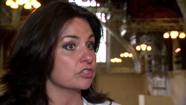 Change UK lagging behind in the polls ENGLAND London Westminster INT Heidi Allen interview SOT