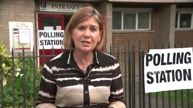 Many EU citizens in the UK turned away from polling stations ENGLAND London Haringey EXT Reporter to camera SOT Location unknown Entrance to polling...