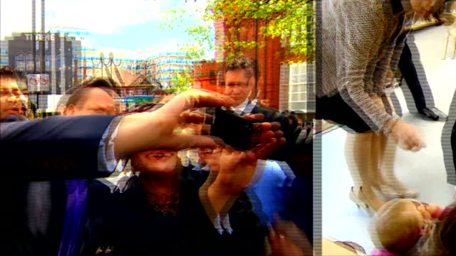 new poll suggests change in attitudes to Europe EXACT DATES UNKNOWN May 2014 PHOTOGRAPHY *** Prime Minister David Cameron MP taking 'selfie'...