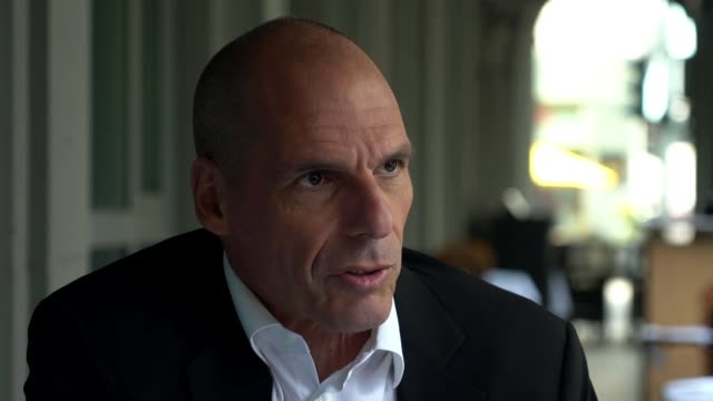 Voting held across the weekend and traditional parties expected to suffer losses GERMANY Berlin EXT Yanis Varoufakis interview SOT