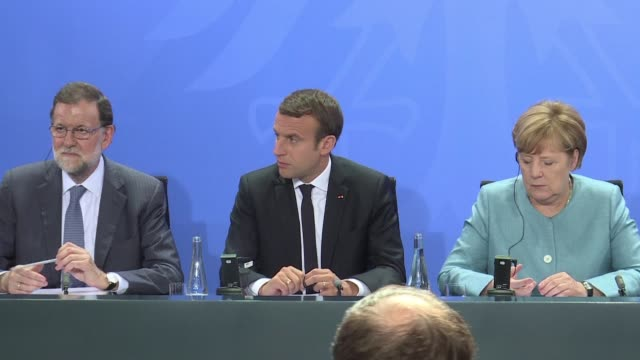 european leaders vow to defend the landmark paris climate pact at a g20 summit next week setting them on collision course with us president donald... - group of 20 stock videos & royalty-free footage