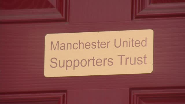 european super league: aftermath of manchester united protests; england: manchester: int stu berry interview via the internet sot old trafford: ext... - europe stock videos & royalty-free footage