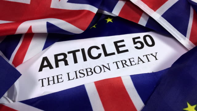 European Union Article 50 The Lisbon Treaty.