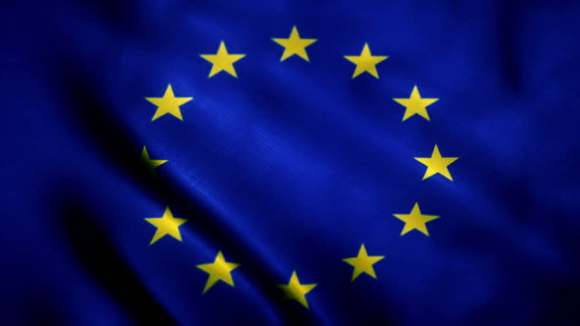 european union flag - flag stock videos & royalty-free footage