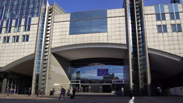 european union - brussels capital region stock videos & royalty-free footage
