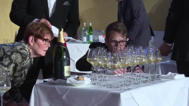 Europe's best wine waiters have descended on Vienna to show off their skills as they take part in the European Sommelier Championship 2017