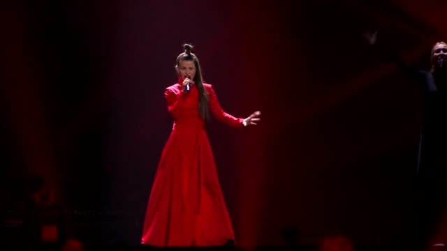 Eurovision contenders perform in the second SemiFinal dress rehearsal of the Eurovision Song Contest 2017 in Kiev