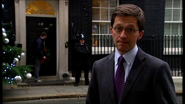 Nick Clegg condemns government decision to reject Eurozone deal EXT Reporter to camera