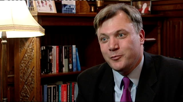Prime Minister urges leaders to take decisive action ENGLAND Ed Balls MP interview SOT The Eurozone grew better than Britain last year we were into...