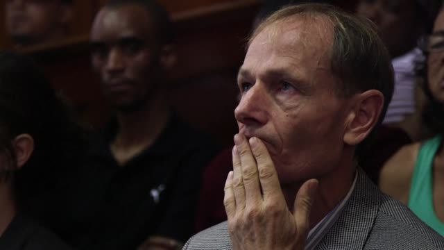 euthanasia activist professor sean davison appears briefly in the cape town magistrates court - euthanasia stock videos & royalty-free footage