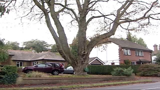 man walks free after admitting mercy killing of his wife surrey caterham car along and past on road pan march home ground floor window of march home... - euthanasia stock videos & royalty-free footage