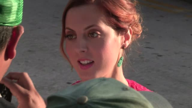 eva amurri martino greets fans at that's my boy premiere at regency village theatre in westwood 06/04/12 - regency village theater stock videos and b-roll footage