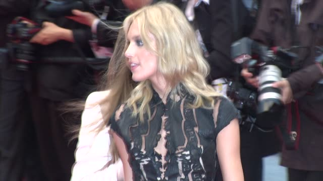 Eva Cavalli and Anja Rubik at Closing Ceremony Therese Desqueyroux Premiere 65th Cannes Film Festival at Lumiere on May 27 2012 in Cannes France