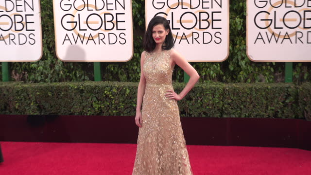 Eva Green at 73rd Annual Golden Globe Awards Arrivals at The Beverly Hilton Hotel on January 10 2016 in Beverly Hills California 4K