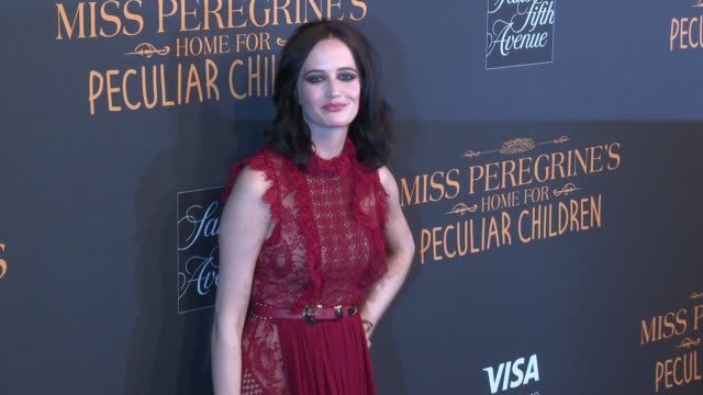 Eva Green at Miss Peregrine's Home For Peculiar Children New York Premiere at Saks Fifth Avenue on September 26 2016 in New York City