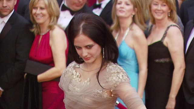 Eva Green at the 2007 Academy Awards Arrivals at the Kodak Theatre in Hollywood California on February 25 2007