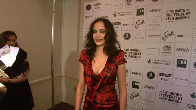 Eva Green at the British Independent Film Awards at London England