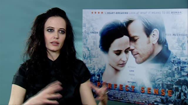 Eva Green on having to fall in love with the role story director being picky being passionate at the Perfect Sense Interviews at London England