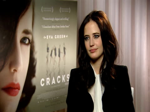 Eva Green on how she was intimidated by the girls but she got on with them like friends and sisters and on how she felt young filming it at the...
