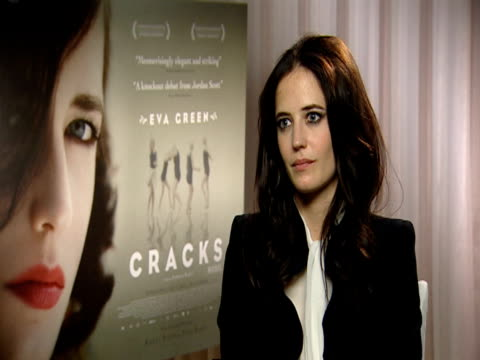 Eva Green on how she's scared about not measuring up all the time and how she focussed on her performance rather than anything else at the Cracks...