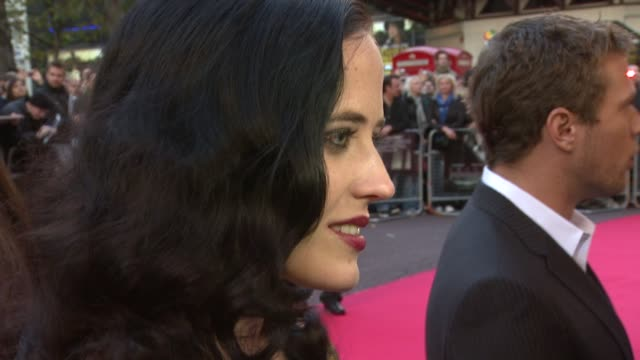 Eva Green on the film at the London Film Festival Franklyn premiere at London