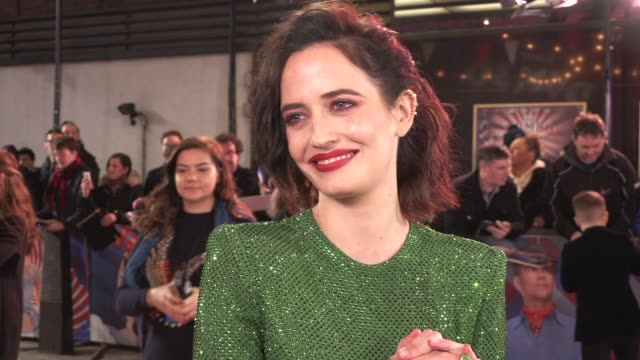 Eva Green on the movie casting and Tim Burton on March 21 2019 in London United Kingdom