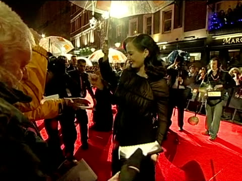 Eva Green on the red carpet at the British Academy Film Awards 2011