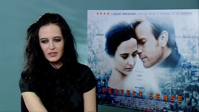 Eva Green on Tim Burton the character she plays in the film With Cracks her dream roles at the Perfect Sense Interviews at London England