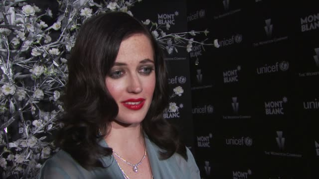 Eva Green on why education is important to her her ambassador work with Montblanc her wish for 2010 at the Montblanc Charity Cocktail hosted by The...