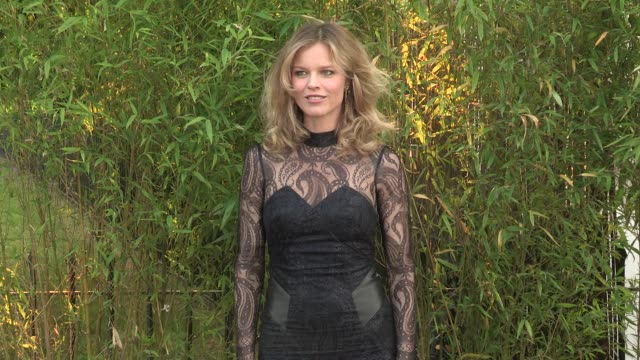 eva herzigova arriving for the summer party at the serpentine gallery on june 26 2013 in london england - the serpentine gallery stock videos & royalty-free footage