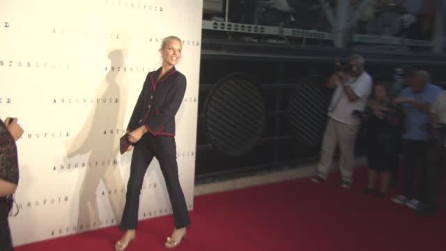 eva herzigova at 'anthropoid' film premiere at bfi southbank on august 30, 2016 in london, england. - bfi southbank stock videos & royalty-free footage