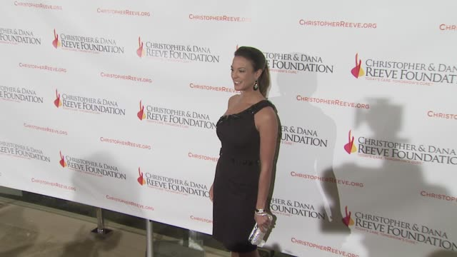 eva la rue at the 4th annual los angeles gala for the christopher dana reeve foundation at los angeles ca - eva larue stock videos and b-roll footage