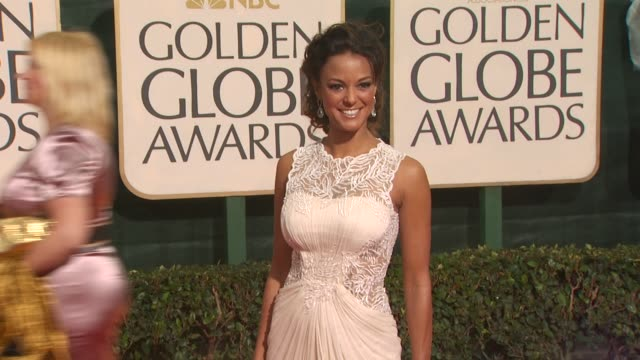 eva la rue at the 67th annual golden globe awards arrivals part 3 at beverly hills ca - eva larue stock videos and b-roll footage