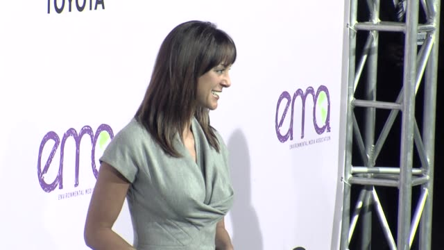 eva la rue at the the 18th annual environmental media awards benefiting the environment at los angeles ca - environmental media awards stock videos & royalty-free footage