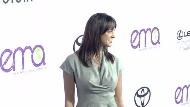eva la rue at the the 18th annual environmental media awards benefiting the environment at los angeles ca - environmental media awards点の映像素材/bロール