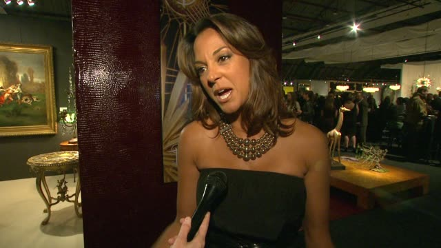 eva la rue on the evening why it's important to have the arts in the public schools why the arts are meaningful to her if she's an art fan/antique... - eva larue stock videos and b-roll footage