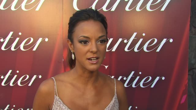 eva la rue on what makes the palm springs international film festival different than any other what film's she's a fan of this year mariah carey's... - eva larue stock videos and b-roll footage