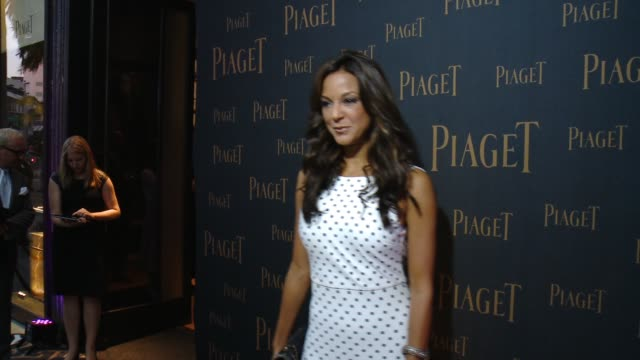 eva larue at extremely piaget launch event in los angeles ca - eva larue stock videos and b-roll footage