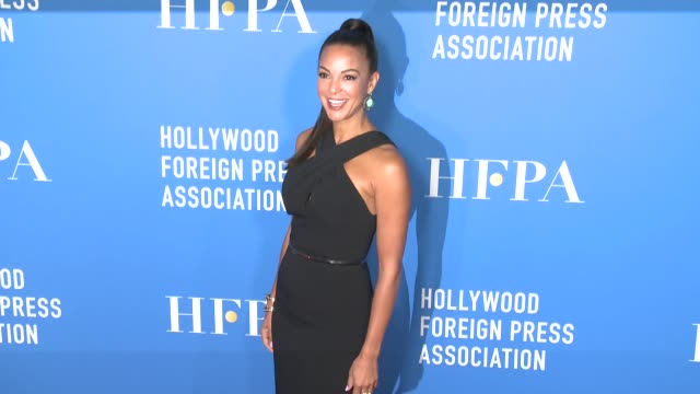 eva larue at hollywood foreign press association's grants banquet in los angeles ca - eva larue stock videos and b-roll footage
