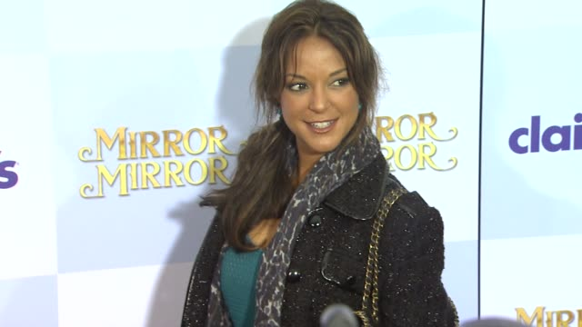 eva larue at mirror mirror world premiere on 3/17/12 in hollywood ca - eva larue stock videos and b-roll footage