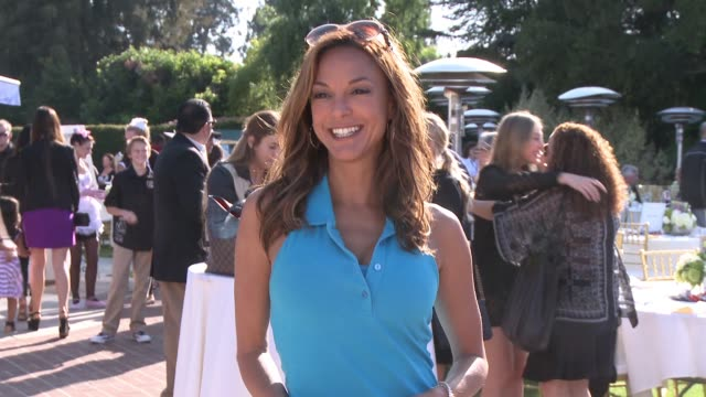 eva larue at the 8th annual george lopez celebrity golf classic presented by sabra salsa in los angeles ca - eva larue stock videos and b-roll footage