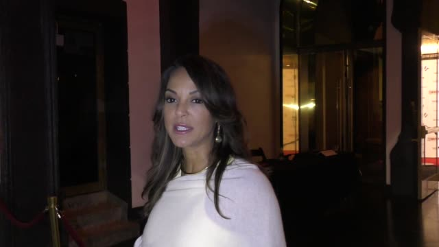 interview eva larue shows her support for firefighters at the california fire foundation's 5th annual gala at avalon in hollywood in celebrity... - eva larue stock videos and b-roll footage