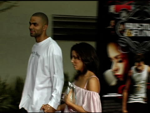 eva longoria and tony parker at the 'hustle and flow' los angeles premiere at the cinerama dome at arclight cinemas in hollywood california on july... - arclight cinemas hollywood stock videos and b-roll footage