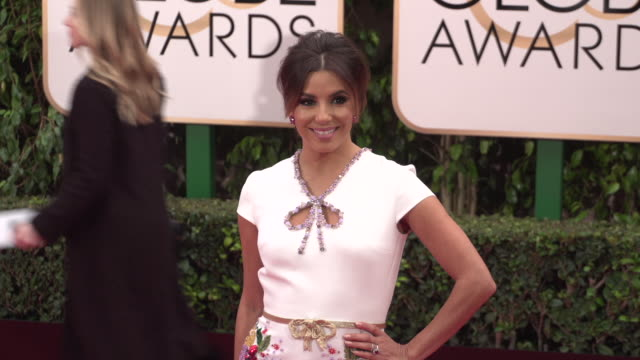 Eva Longoria at 73rd Annual Golden Globe Awards Arrivals at The Beverly Hilton Hotel on January 10 2016 in Beverly Hills California 4K