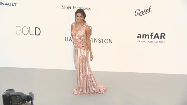 eva longoria at amfar gala cannes 2017 at hotel du capedenroc on may 25 2017 in cap d'antibes france - cannes stock videos & royalty-free footage
