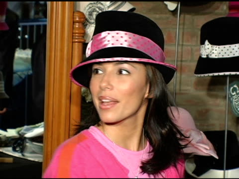 Eva Longoria at Louise Green at the Hollywood Holiday Boutique at Le Dome in West Hollywood California on December 6 2004