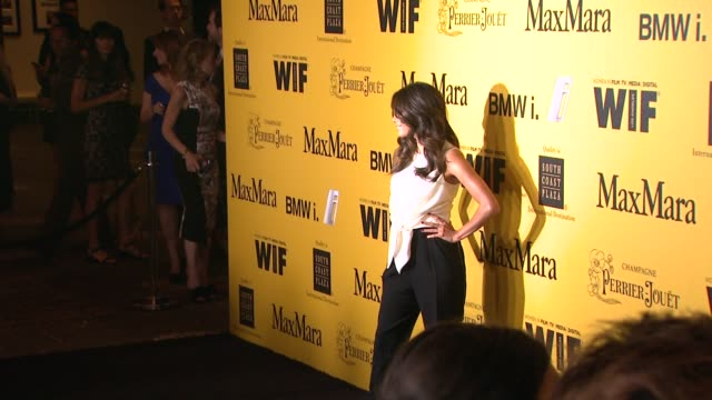 stockvideo's en b-roll-footage met eva longoria at the 2014 women in film crystal lucy awards presented by max mara bmw perrierjouet and south coast plaza at the hyatt regency century... - century plaza