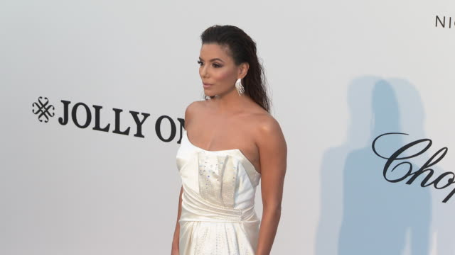Eva Longoria at the amfAR Cannes Gala 2019 Arrivals at Hotel du CapEdenRoc on May 23 2019 in Cap d'Antibes France