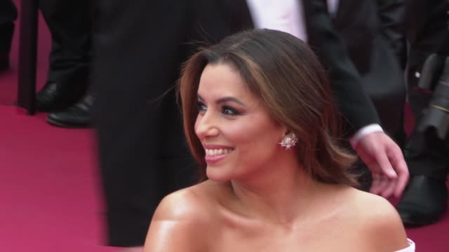 eva longoria at 'the dead don't die' red carpet arrivals opening ceremony the 72nd cannes film festival on may 14 2019 in cannes france - the dead don't die 2019 film stock videos and b-roll footage