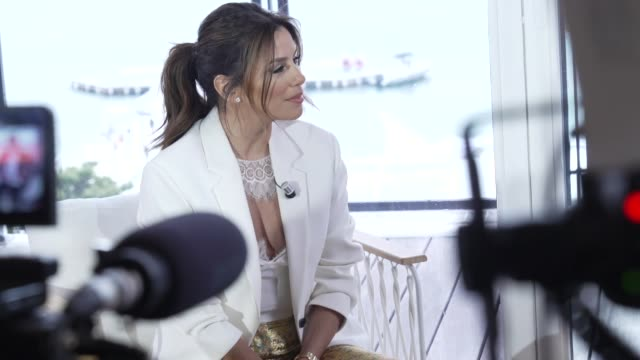 FRA: Women In Motion Talk with Eva Longoria - The 72nd Cannes Film Festival